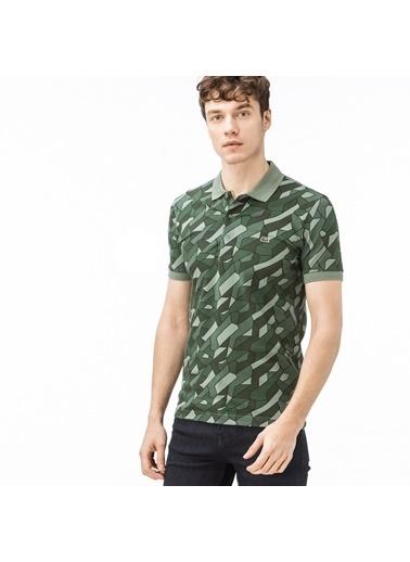 Lacoste Erkek Polo Tişört PH0907.07Y Yeşil